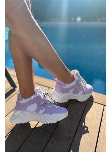 İnan Ayakkabı BAYAN SNEAKERS Lila